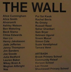 LONDRA, The Wall 1
